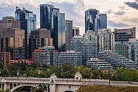 Centre Street Bridge & Downtown Calgary