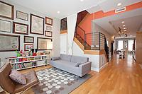 Living Room / Den at 113 East 60th Street