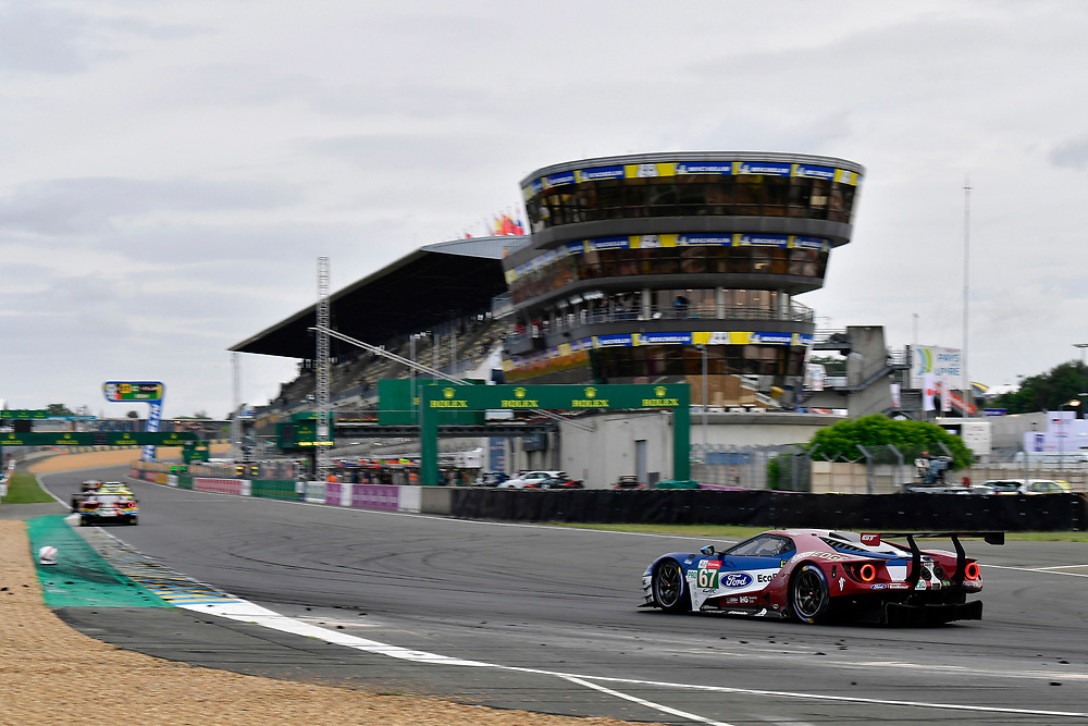 #67 Ford Chip Ganassi Racing Ford GT: Andy Priaulx, Harry Tincknell, Tony Kanaan<br /> Sunday 17 June 2018<br /> 24 Hours of Le Mans<br /> 2018 24 Hours of Le Mans<br /> Circuit de la Sarthe  FR<br /> World Copyright: Scott R LePage