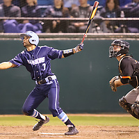 Los Gatos vs Valley Christian in the 2018 CCS Open Division Baseball Championship at San Jose Municipal Stadium, San Jose CA on 5/25/18. (Photograph by Bill Gerth) (Valley Christian 4 Los Gatos 3) A heart-pounding, tension-packed seventh inning ended Friday night with Coleman Brigman crossing home plate with the decisive run after Steven Zobac took a pitch to the thigh.<br /> <br /> Anticlimactic, perhaps, but certainly not for the winners.<br /> <br /> Valley Christian repeated as Central Coast Section Open Division champion, beating Los Gatos 4-3 at Municipal Stadium in a game that will be remembered for the incredible at-bats by Los Gatos in the top half of the seventh that erased a two-run deficit and the bounce-back in the bottom half of the inning by the area's top team all season.