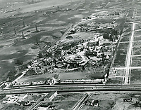 1928 Aerial photo looking south at Fox Studios in West Los Angeles
