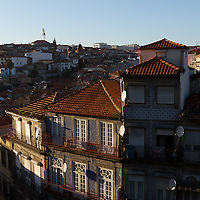 """The historic centre of Porto was declared a World Heritage Site by UNESCO in 1996. The World Heritage site is defined in two concentric zones; the """"Protected area"""", and within it the """"Classified area"""". The Classified area comprises the medieval borough located inside the 14th-century Romanesque wall."""