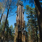 Tower in Dzintari park, Jurmala, Latvia