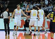 DESCRIZIONE : Verona Campionato Lega Basket A2 2011-12 Tezenis Verona Sigma Barcellona<br /> GIOCATORE : Esultanza Tezenis Verona<br /> SQUADRA : Tezenis Verona<br /> EVENTO : Campionato Lega Basket A2 2011-2012<br /> GARA : Tezenis Verona Sigma Barcellona<br /> DATA : 15/11/2011<br /> CATEGORIA : Esultanza<br /> SPORT : Pallacanestro <br /> AUTORE : Agenzia Ciamillo-Castoria/L.Lussoso<br /> Galleria : Lega Basket A2 2011-2012 <br /> Fotonotizia : Verona Campionato Lega Basket A2 2011-12 Tezenis Verona Sigma Barcellona<br /> Predefinita :