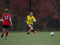 St Pauls School girls varsity soccer with New Hampton School.    ©2020 Karen Bobotas Photographer