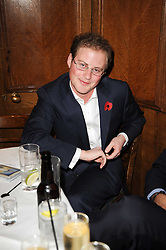 GUY PELLY at the Tatler Little Black Book Party held at Tramp, 40 Jermyn Street, London on 3rd November 2010.