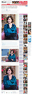 Katherine Kelly / This Morning / Mailonline 5th January 2012.