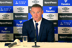 Wayne Rooney Press Conference - 10 July 2017
