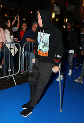 Kevin De Bruyne arriving for the All or Nothing: Manchester City, world premiere at Vue Printworks, Manchester.