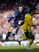 Photo: Jed Wee/Sportsbeat Images.<br /> Scotland v Lithuania. UEFA European Championships Qualifying. 08/09/2007.<br /> <br /> Scotland's James McFadden scores with a thunderbolt shot minutes after coming on as a substitute to take the score to 3-1.