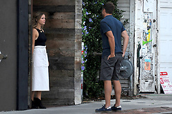 EXCLUSIVE: Will Arnett and Irish actress Ruth Kearney spotted kissing on set of new Netflix series 'Flaked' The comedian was seen getting up close and personal while filming a scene in Venice, Ca. Arnett leaned in on Ruth to kiss her as the filmed the scene in a back alley. Pictured: Will Arnett and Ruth Kearney. 23 Sep 2015 Pictured: Will Arnett,Ruth Kearney. Photo credit: Atlantic Images / MEGA TheMegaAgency.com +1 888 505 6342