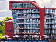 Położony na Ptasiej Wyspie pięciogwiazdkowy Hotel Mikołajki.