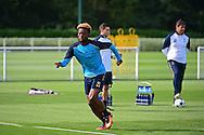 Joshua Onomah during Tottenham Training Session at  at Tottenham Training Centre, Enfield, United Kingdom on 13 September 2016. Photo by Jon Bromley.