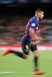September 18, 2018 - Barcelona, Spain - Luis Suarez during the match between FC Barcelona and PSV Eindhoven, corresponding to the week 1 of the group stage of the UEFA Champions Leage, played at the Camp Nou Stadium, on 18th September, 2018, in Barcelona, Spain. (Credit Image: © Urbanandsport/NurPhoto/ZUMA Press)