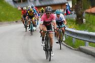 Simon Yates (GBR - Mitchelton - Scott) pink leader jersey during the 101th Tour of Italy, Giro d'Italia 2018, stage 15, Tolmezzo - Sappada 178 km on May 20, 2018 in Italy - Photo Luca Bettini / BettiniPhoto / ProSportsImages / DPPI