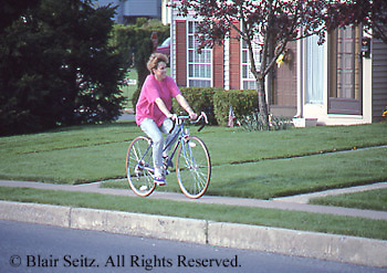 Real estate, suburban condos, leisure biking,