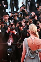 Naomi Watts being photographed at the the How to Train Your Dragon 2 gala screening red carpet at the 67th Cannes Film Festival France. Friday 16th May 2014 in Cannes Film Festival, France.
