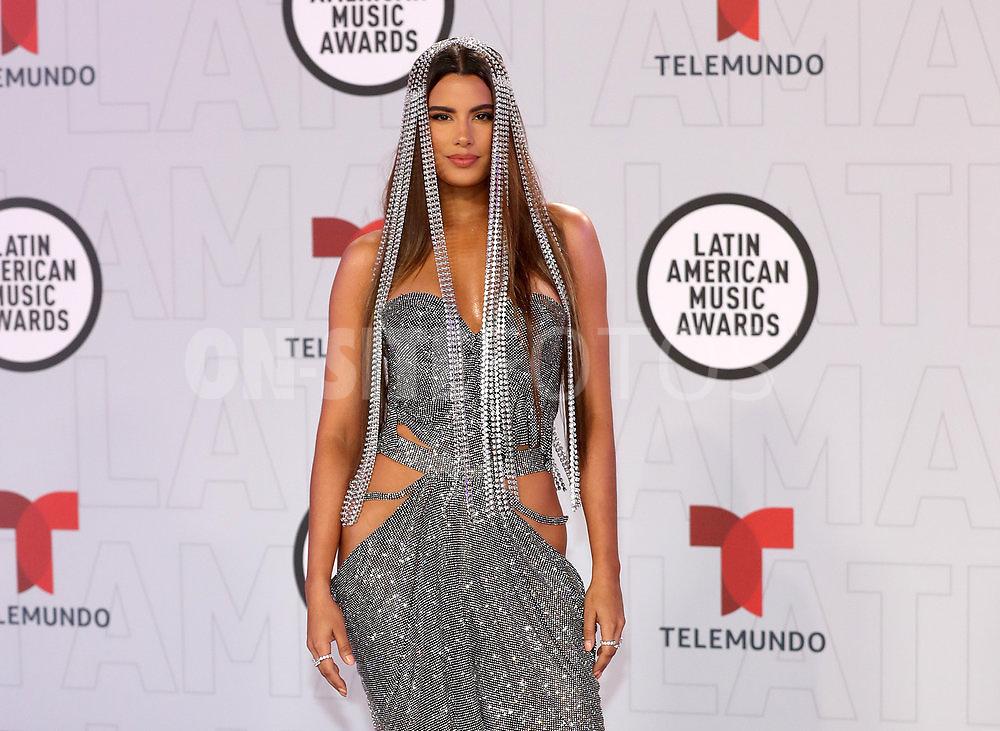 "2021 LATIN AMERICAN MUSIC AWARDS -- ""Red Carpet"" -- Pictured: Ariadna Gutiérrez at the BB&T Center in Sunrise, FL on April 15, 2021 -- (Photo by: Aaron Davidson/Telemundo)"