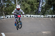 #1 (SMULDERS Laura) NED during practice at round 1 of the 2018 UCI BMX Supercross World Cup in Santiago del Estero, Argentina.