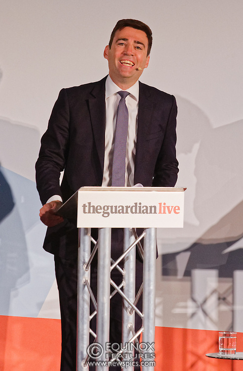 London, United Kingdom - 27 August 2015<br /> Labour Party leadership candidates debate the issues at a hustings event hosted by the Guardian Live at the Emanuel Centre, Westminster, London, England, UK.<br /> (photo by: Equinox Features/EQUINOXFEATURES.COM)<br /> <br /> Picture Data:<br /> Photographer: Equinox Features<br /> Copyright: ©2015 Equinox Licensing Ltd. +448700 780000<br /> Contact: Equinox Features<br /> Date Taken: 20150827<br /> Time Taken: 19205400<br /> www.newspics.com