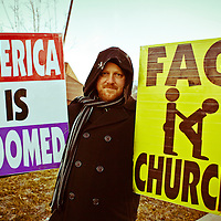 Westboro Baptist Church Pickets Salt Lake City