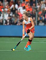 AMSTELVEEN -  Laura Nunnink (Ned)  tijdens Nederland - Spanje (dames) bij de Rabo EuroHockey Championships 2017.  COPYRIGHT KOEN SUYK