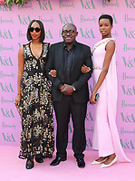 Vanessa Kingori, Edward Enninful, Maria Borges, V&A Summer Party 2018, Victoria and Albert Museum, London, UK, 20 June 2018, Photo by Richard Goldschmidt