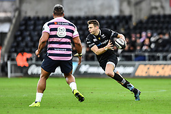 Ospreys' Dan Biggar in action during todays match<br /> <br /> Photographer Craig Thomas/Replay Images<br /> <br /> Guinness PRO14 Round 13 - Ospreys v Cardiff Blues - Saturday 6th January 2018 - Liberty Stadium - Swansea<br /> <br /> World Copyright © Replay Images . All rights reserved. info@replayimages.co.uk - http://replayimages.co.uk
