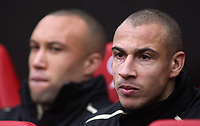 Photo: Paul Thomas.<br /> Manchester United v Charlton Athletic. The Barclays Premiership. 10/02/2007.<br /> <br /> Henrik Larsson starts from the bench for Utd.