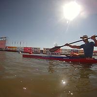 2011 ICF World Canoe Sprint Championships held in Szeged, Hungary on August 21, 2011. ATTILA VOLGYI