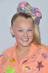JoJo Siwa arrives at We Day California 2017 held at The Forum in Inglewood, CA on Thursday, April 27, 2017. (Photo By Sthanlee B. Mirador) *** Please Use Credit from Credit Field ***