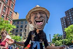 May 26, 2019 - New York, New York, United States - The Lower East Side celebrated the Annual Loisaida Festival with a colorful parade on the Avenue C corridor, Loisaida Avenue in Manhattan's Lower East Side. (Credit Image: © Erik Mcgregor/Pacific Press via ZUMA Wire)
