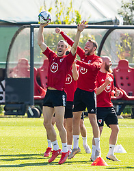 CARDIFF, WALES - Tuesday, September 7, 2021: Wales' captain Gareth Bale during a training session at the Vale Resort ahead of the FIFA World Cup Qatar 2022 Qualifying Group E match between Wales and Estonia. (Pic by David Rawcliffe/Propaganda)