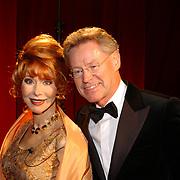 Miljonairfair 2004, Marijke Helwegen en man Harry