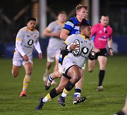 - Mandatory by-line: Ryan Hiscott/JMP - 08/01/2021 - RUGBY - Recreation Ground - Bath, England - Bath Rugby v Wasps - Gallagher Premiership Rugby