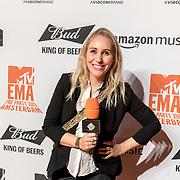 NLD/Amsterdam/20191028 - MTV Pre Party in Amsterdam, Saskia Weerstand