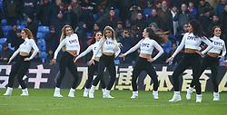 February 4, 2018 - London, England, United Kingdom - Bristol Cheerleaders..during Premier League match between Crystal Palace and Newcastle United at Selhurst Park Stadium, London,  England on 04 Feb 2018. (Credit Image: © Kieran Galvin/NurPhoto via ZUMA Press)