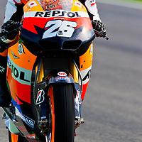 2011 MotoGP World Championship, Round 18, Valencia, Spain, 6 November 2011, Dani Pedrosa