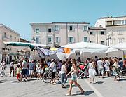 ITALY, RIMINI, Piazza 3 Martiri