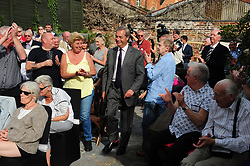 June 3, 2017 - Ramsgate, Kent, UK - Nigel Farage speaking at a UKIP public meeting in Ramsgate,Kent at Townley Hall in support of UKIP Thanet candidate REV Stuart Piper. (Credit Image: © Grant Falvey/London News Pictures via ZUMA Wire)