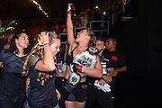 RIO DE JANEIRO, BRAZIL - AUGUST 01:  [CAPTION] backstage during the UFC 190 event inside HSBC Arena on August 1, 2015 in Rio de Janeiro, Brazil.  (Photo by Jeff Bottari/Zuffa LLC/Zuffa LLC via Getty Images)