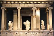 The Nereid Monument. Lykian tomb, found in Xanthus, Turkey. Built around 390-380 BC