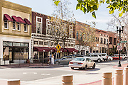 4th and Birch Street of Downtown Santa Ana