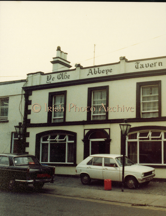 Old Dublin Amature Photos Date Unknown With 1980s Old amateur photos of Dublin streets churches, cars, lanes, roads, shops schools, hospitals, Ye Olde Abbey Tavern