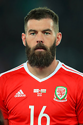 Wales'  Joe Ledley during the 2018 FIFA World Cup Qualifying, Group D match at the Boris Paichadze Dinamo Arena, Tbilisi. PRESS ASSOCIATION Photo. Picture date: Friday October 6, 2017. See PA story SOCCER Georgia. Photo credit should read: Tim Goode/PA Wire. RESTRICTIONS: Editorial use only, No commercial use without prior permission.