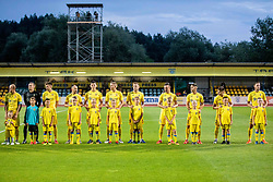 Players of NK Domzale during 2nd Leg Football match between NK Domzale and FC Balzan  in First Qualifying match of UEFA Europa League 2019/2020, on July 18, 2019 in Sports park Domzale, Domzale, Slovenia. Photo by Ziga Zupan / Sportida