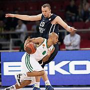 Panathinaikos's David Kyle LOGAN (F) during their Two Nations Cup basketball match Anadolu Efes between Panathinaikos at Abdi Ipekci Arena in Istanbul Turkey on Saturday 01 October 2011. Photo by TURKPIX