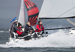 Day one of the Silvers Marine Scottish Series 2015, the largest sailing event in Scotland organised by the  Clyde Cruising Club<br /> Racing on Loch Fyne from 22rd-24th May 2015<br /> <br /> GBR283, TJIGIV, J Dryburgh/R Pilcher, CCC<br /> <br /> <br /> Credit : Marc Turner / CCC<br /> For further information contact<br /> Iain Hurrel<br /> Mobile : 07766 116451<br /> Email : info@marine.blast.com<br /> <br /> For a full list of Silvers Marine Scottish Series sponsors visit http://www.clyde.org/scottish-series/sponsors/