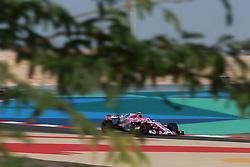 April 7, 2018 - Sakhir, Bahrain - Motorsports: FIA Formula One World Championship 2018, Grand Prix of Bahrain,#31 Esteban Ocon (Sahara Force India F1 Team) (Credit Image: © Hoch Zwei via ZUMA Wire)