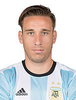 Conmebol - World Cup Fifa Russia 2018 Qualifier / <br /> Argentina National Team - Preview Set - <br /> Lucas Biglia